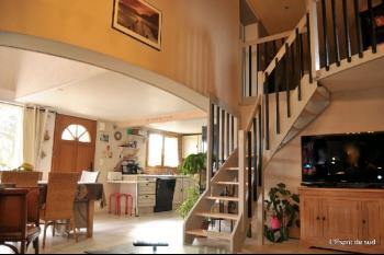 Maison contemporaine à Gaillac, piscine, jardin et garage