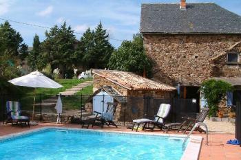 Une Maison de vacances avec sa piscine