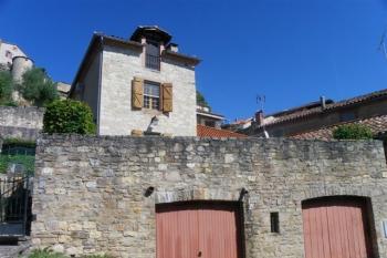 Maison de village avec 3 terrasses et belle vue