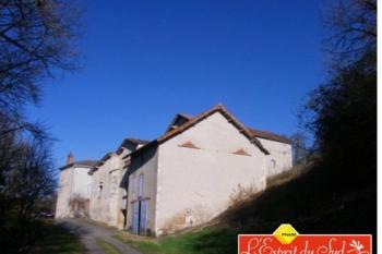 Ancienne habitation de vendangeurs et sa grange