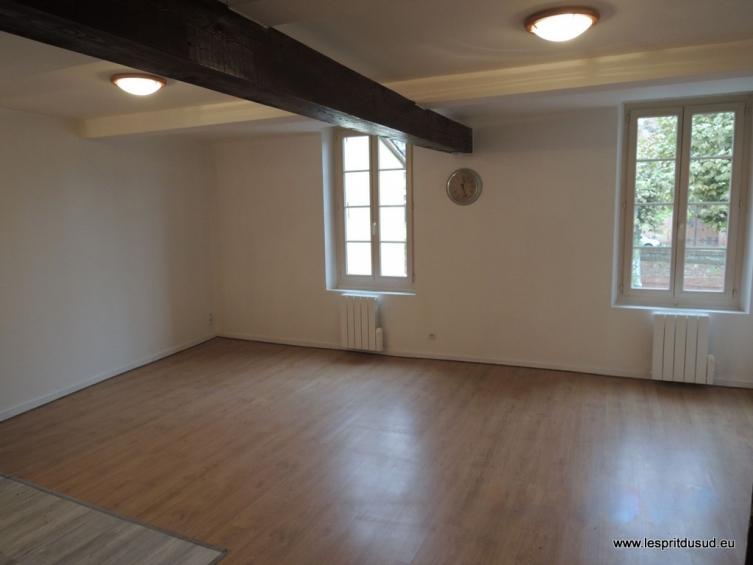 Appartement atypique louer en centre ville de rabastens for Appartement atypique 91
