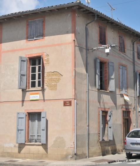 Rabastens maison a restaurer renover achat immobilier l for Achat maison a restaurer