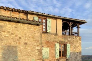 Belle maison en pierre à Cordes sur Ciel - vue ion