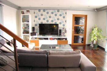 Maison moderne avec superbe vue