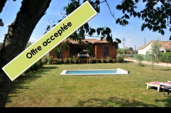 Maison ossature bois, au calme, jardin, piscine