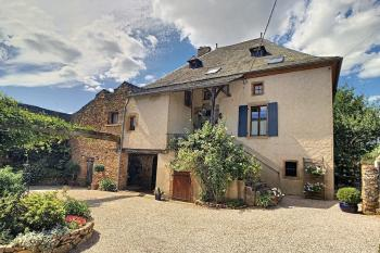 Lovely Small Farm with a 5 Bedroom House, Pool and Stone Barn with 6 Acres
