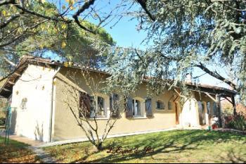 Maison de qualité à Rabastens, sous-sol et garage